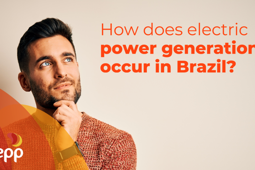 How does electric power generation occur in Brazil?